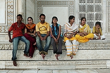 Taj Mahal, Aggra, India